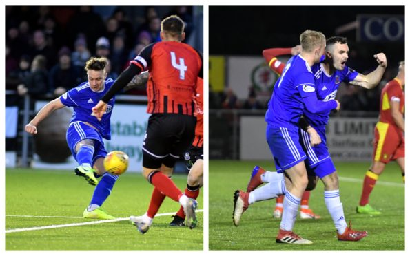 Ryan Strachan and Scott Ross have signed new contracts at Cove Rangers.