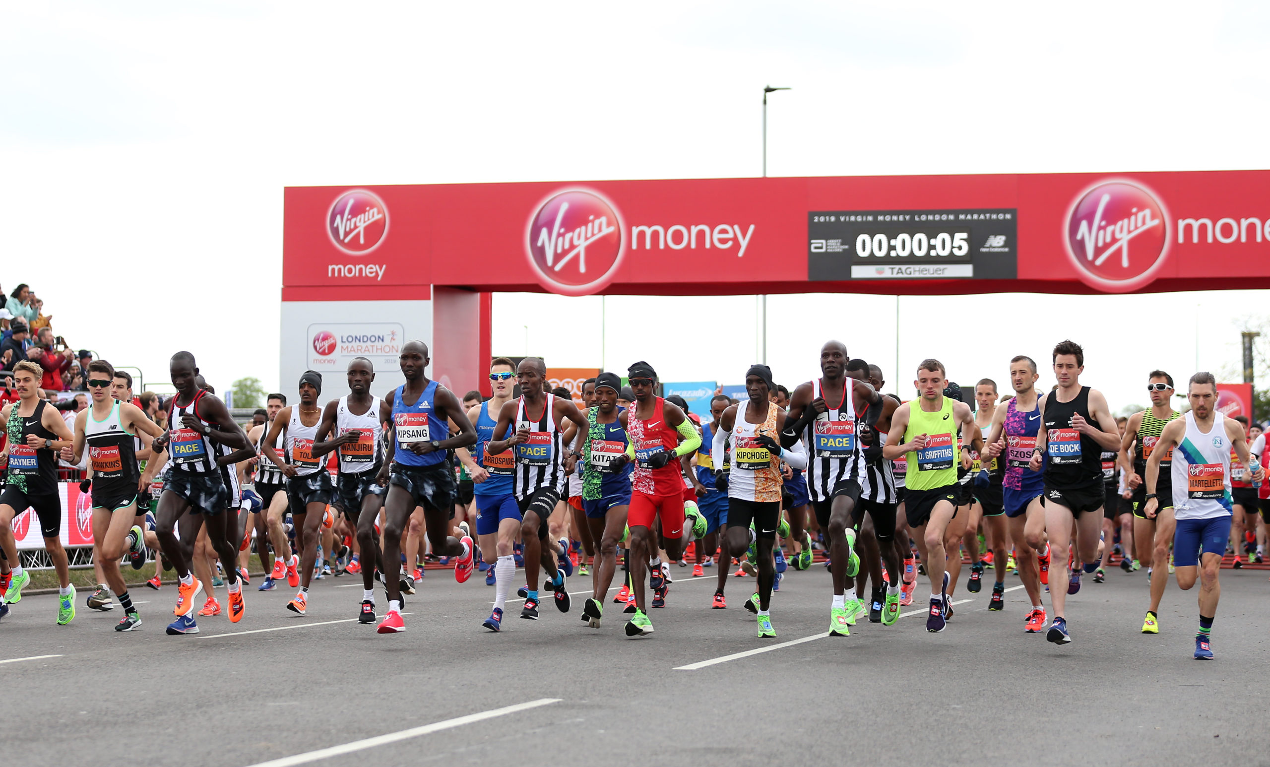 The London Marathon will be much-changed this year.