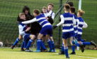 Dyce Whites Under-14s. Picture by Jim Irvine