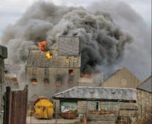 The fire in Macduff