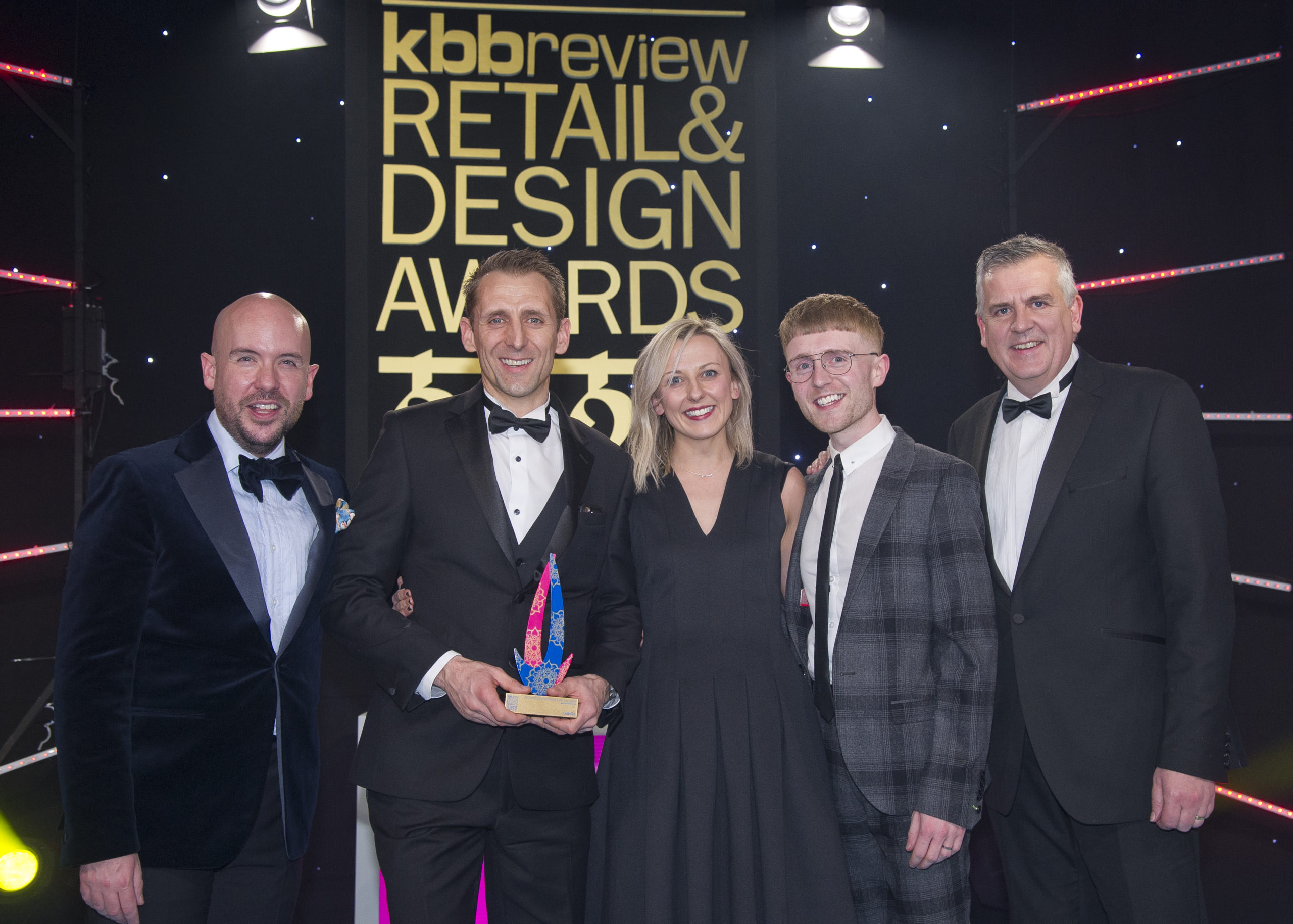 Staff from Laings enjoyed success at the awards