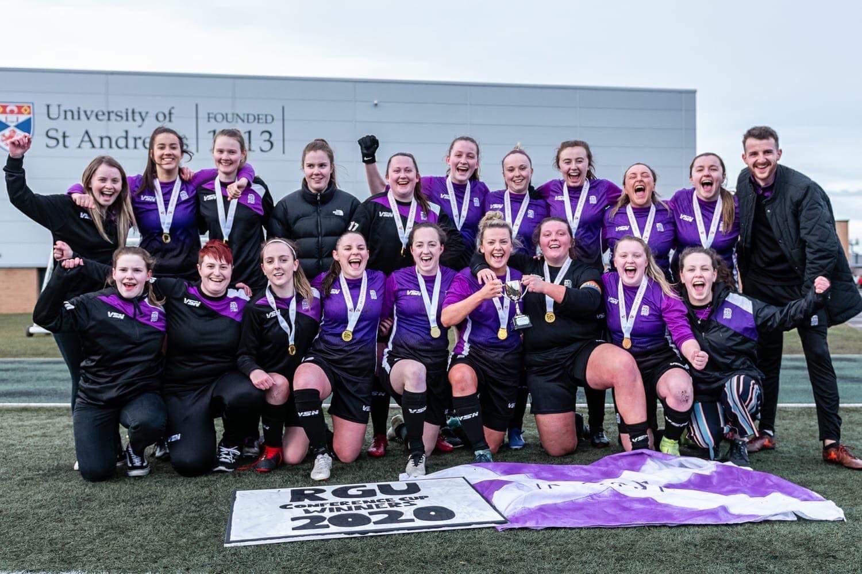 The RGU women's team.