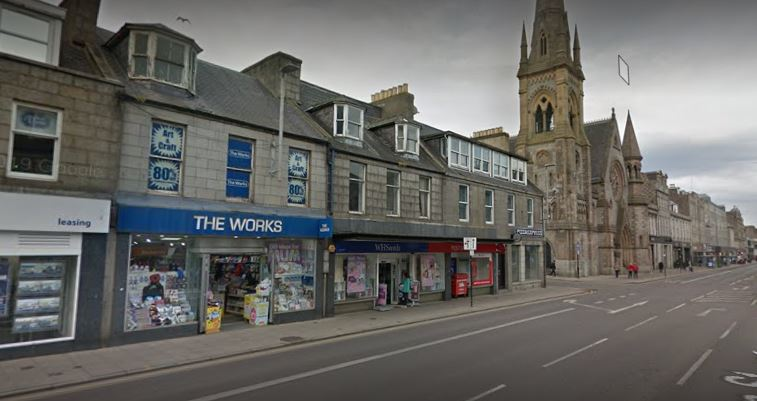The Works on Aberdeen's Union Street