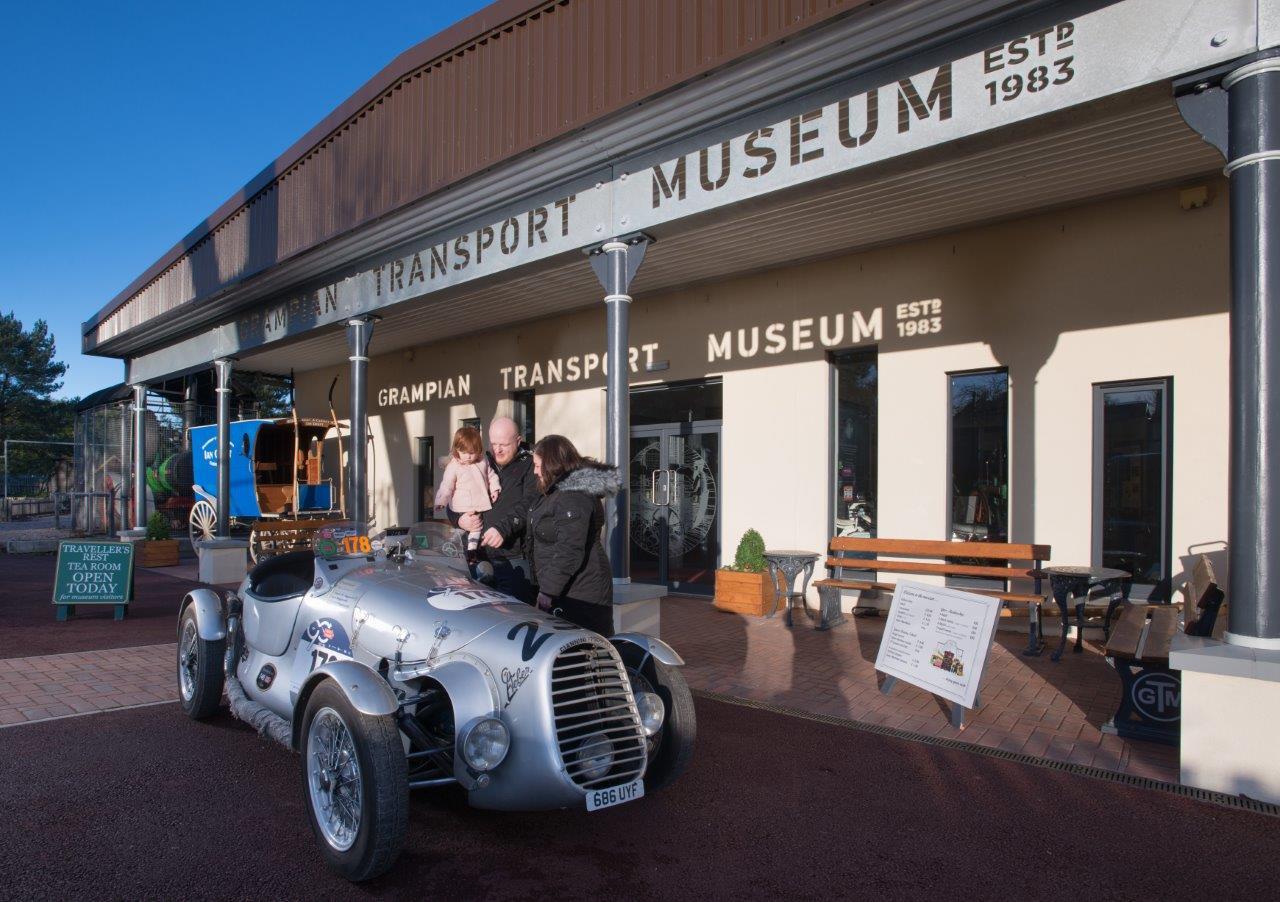 Grampian Transport Museum in Alford
