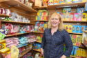 Lucy Taylor, manager of Tarland toy shop and post office