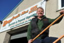 Ian Taylor, Speyfruit Ltd, Elgin, has moved to deliveries