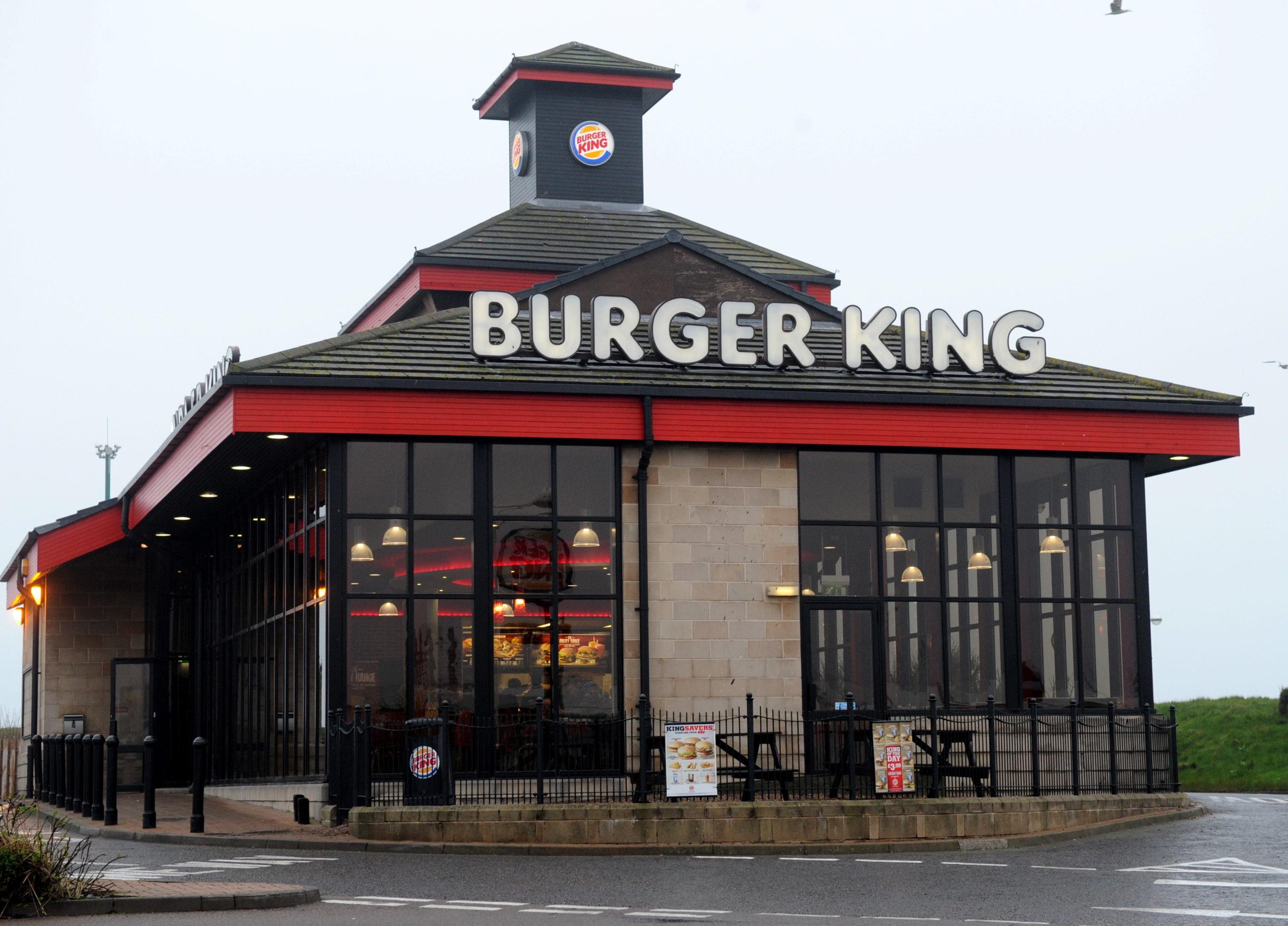 Burger King at Aberdeen's Queen's Links Leisure Park
