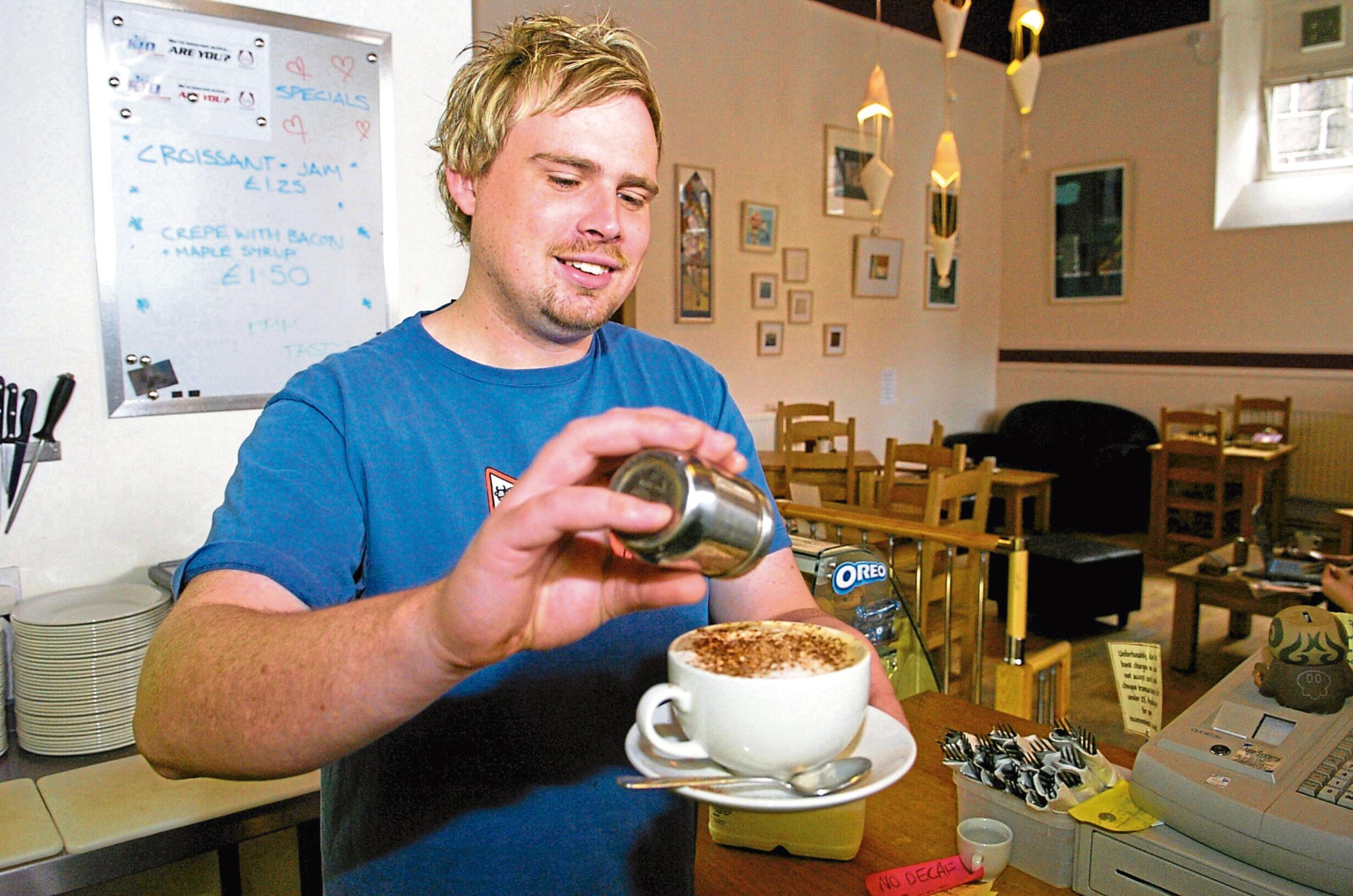 Craig Adam runs the Kilau Cafe