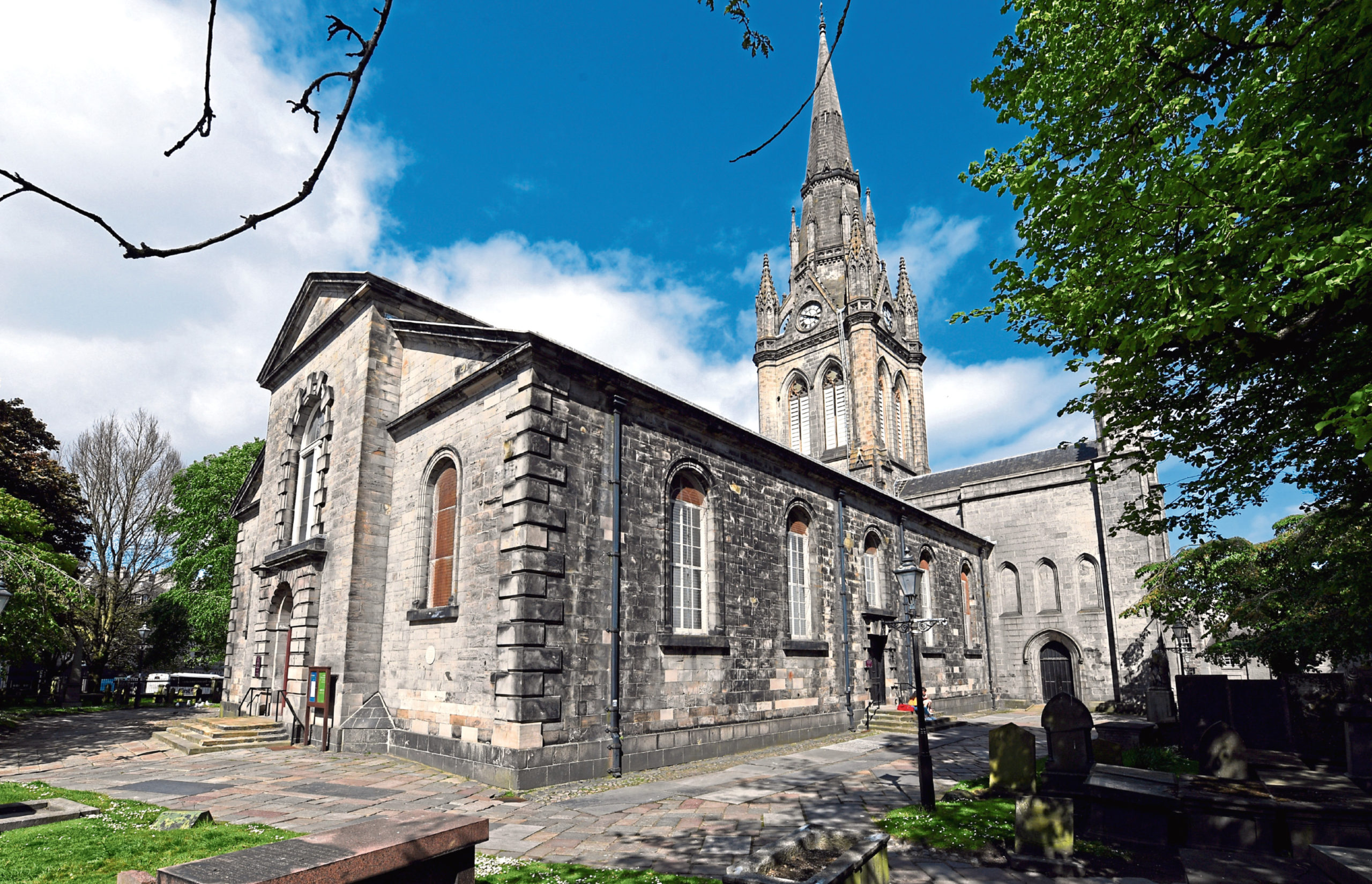 A series of videos will give a tour of St Nicholas Kirk
