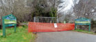 The car park at Bennachie has been closed