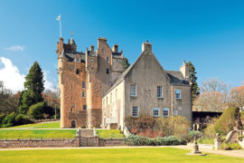 Crathes Castle, a 16th century tower-house
