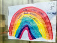 A rainbow by Elijah, 5, from Elrick Primary School