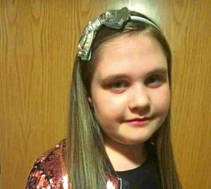 Cornhill Primary pupil Alesha Henry