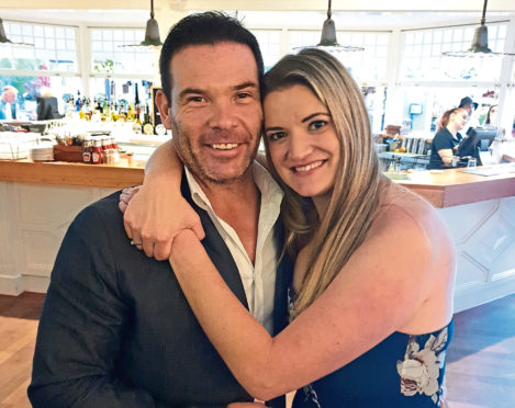 Anton Fimpel and his fiancee Telisha Rhodes have had to postpone their wedding