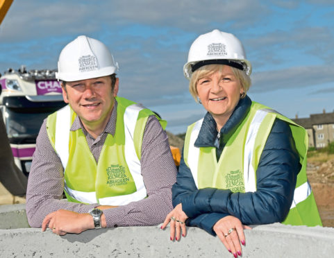 Douglas Lumsden and Jenny Laing welcome the £62m energy transition fund which will help north-east oil, gas and energy businesses recover