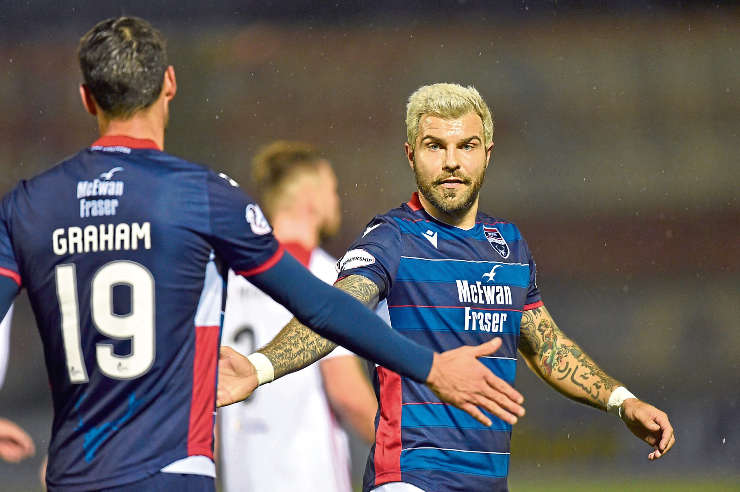 Richard Foster has been released by Ross County.