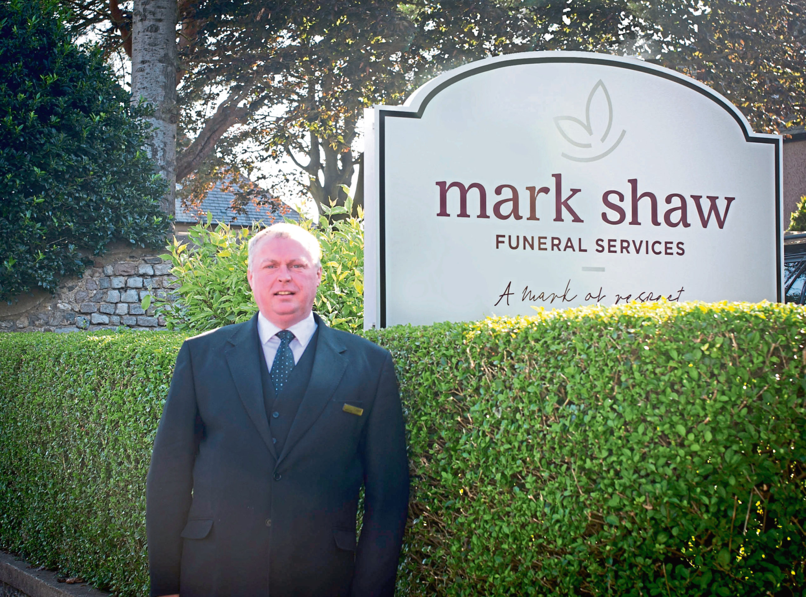 Funeral director Mark Shaw said the coronavirus pandemic has left families facing difficult decisions