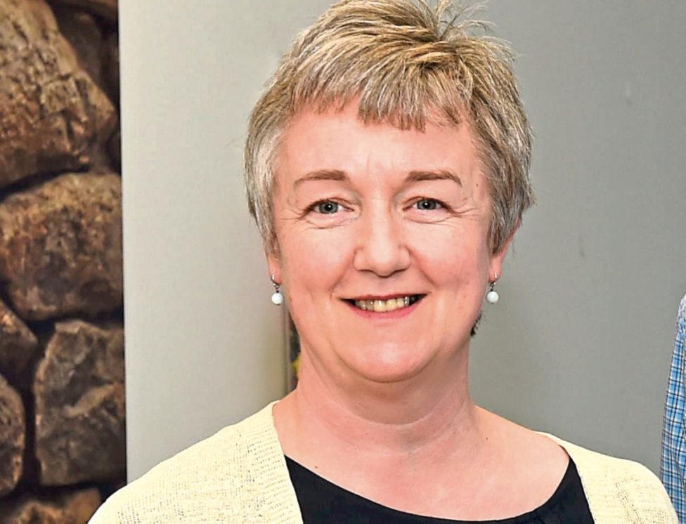ACVO chief executive Maggie Hepburn.