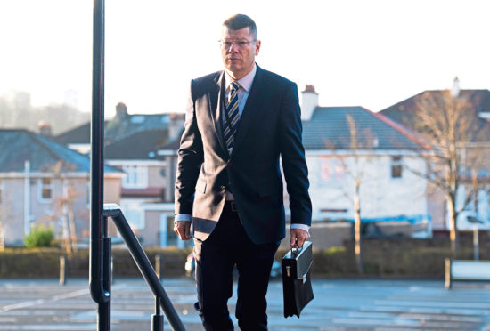Scottish football chiefs like the SPFL's Neil Doncaster need government backing, according to Mayer.