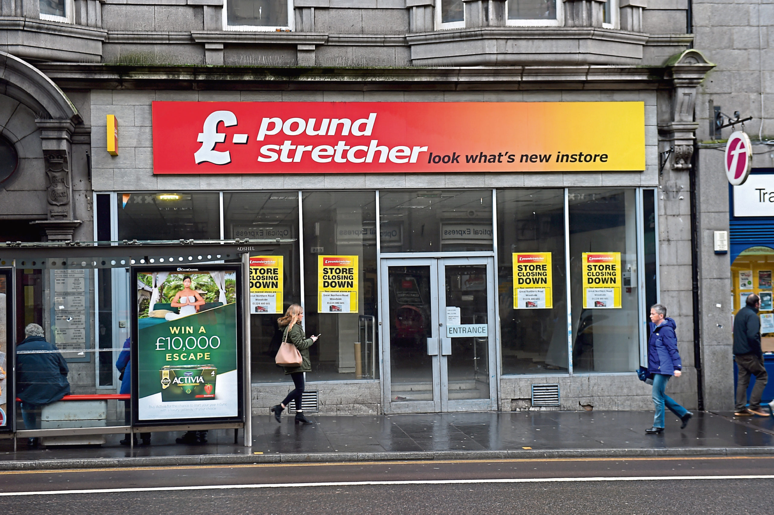 A Tesco is planned at the former Poundstretcher on Union Street