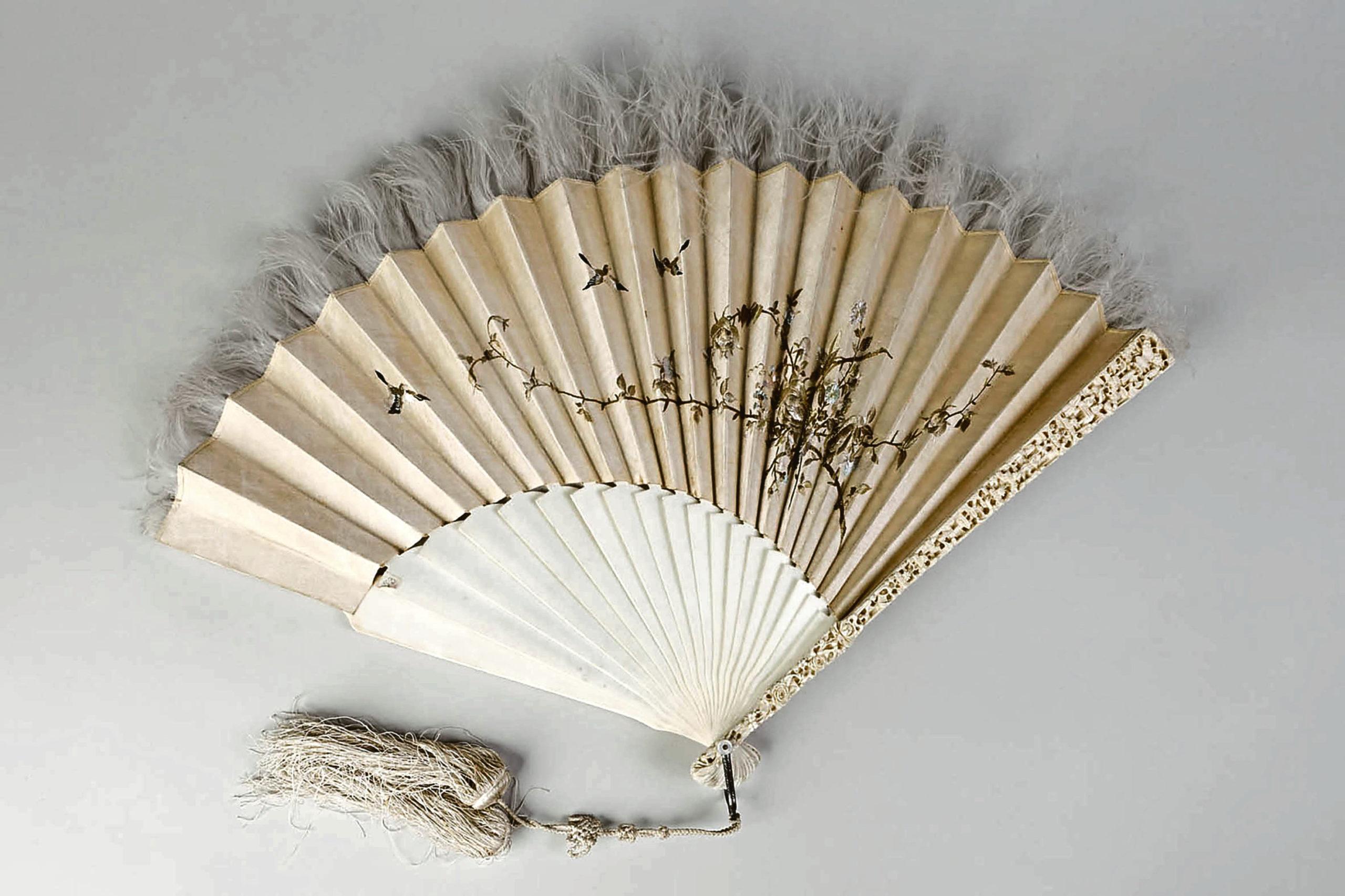 Chinese ivory fan
