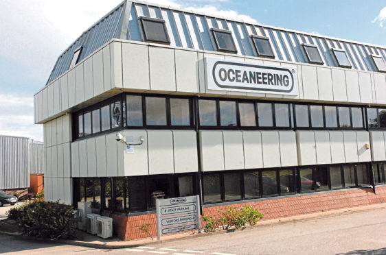 Oceaneering has won a windfarm contract