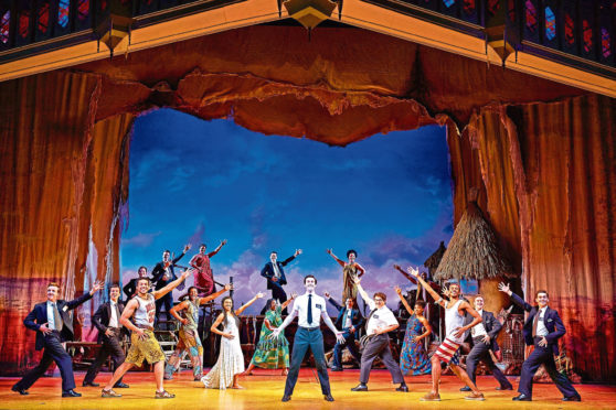 The Book of Mormon will head to Aberdeen next year