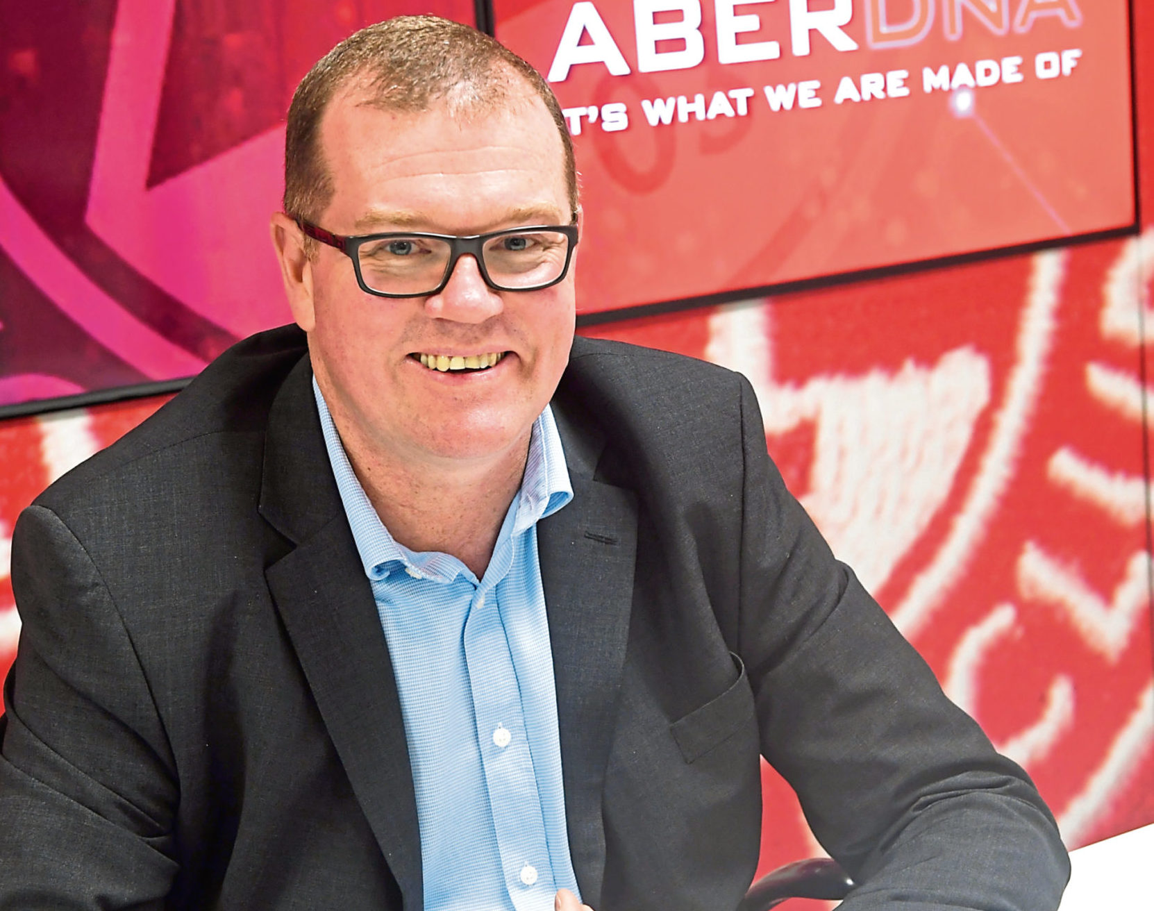 Aberdeen commercial director Rob Wicks