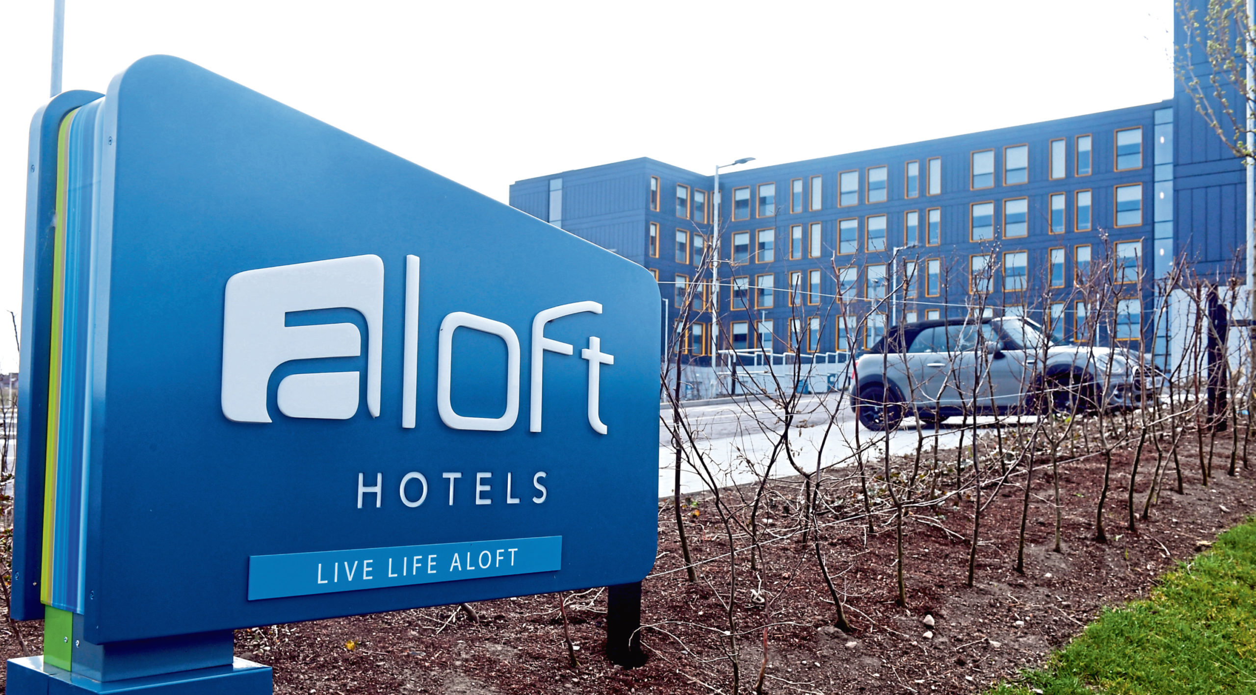 A final decision on turning the Aloft Hotel into a hospital is yet to be made by the Scottish Government