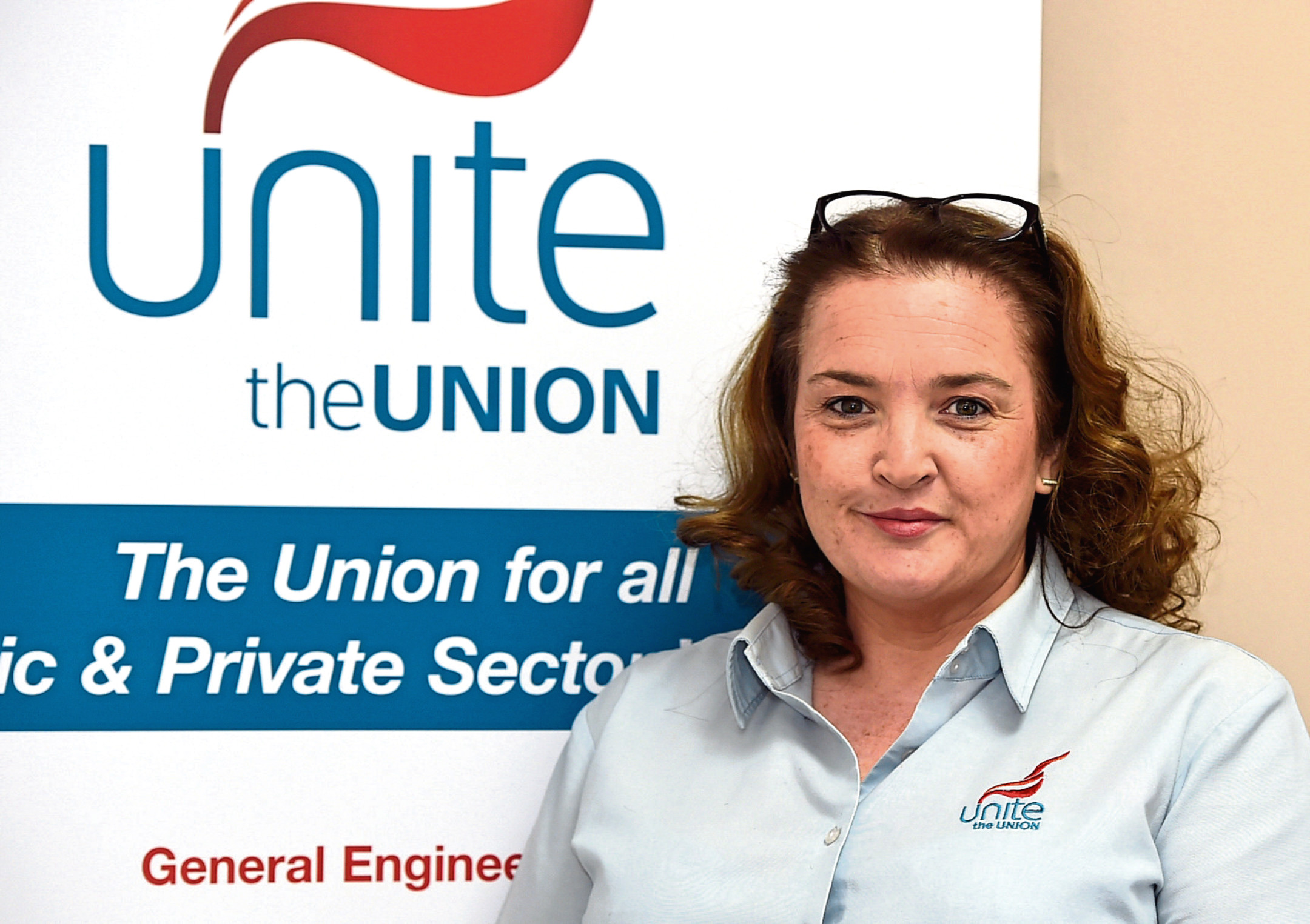 Unite regional officer Shauna Wright