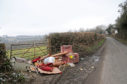Fly tipping has been in the increase in Aberdeenshire
