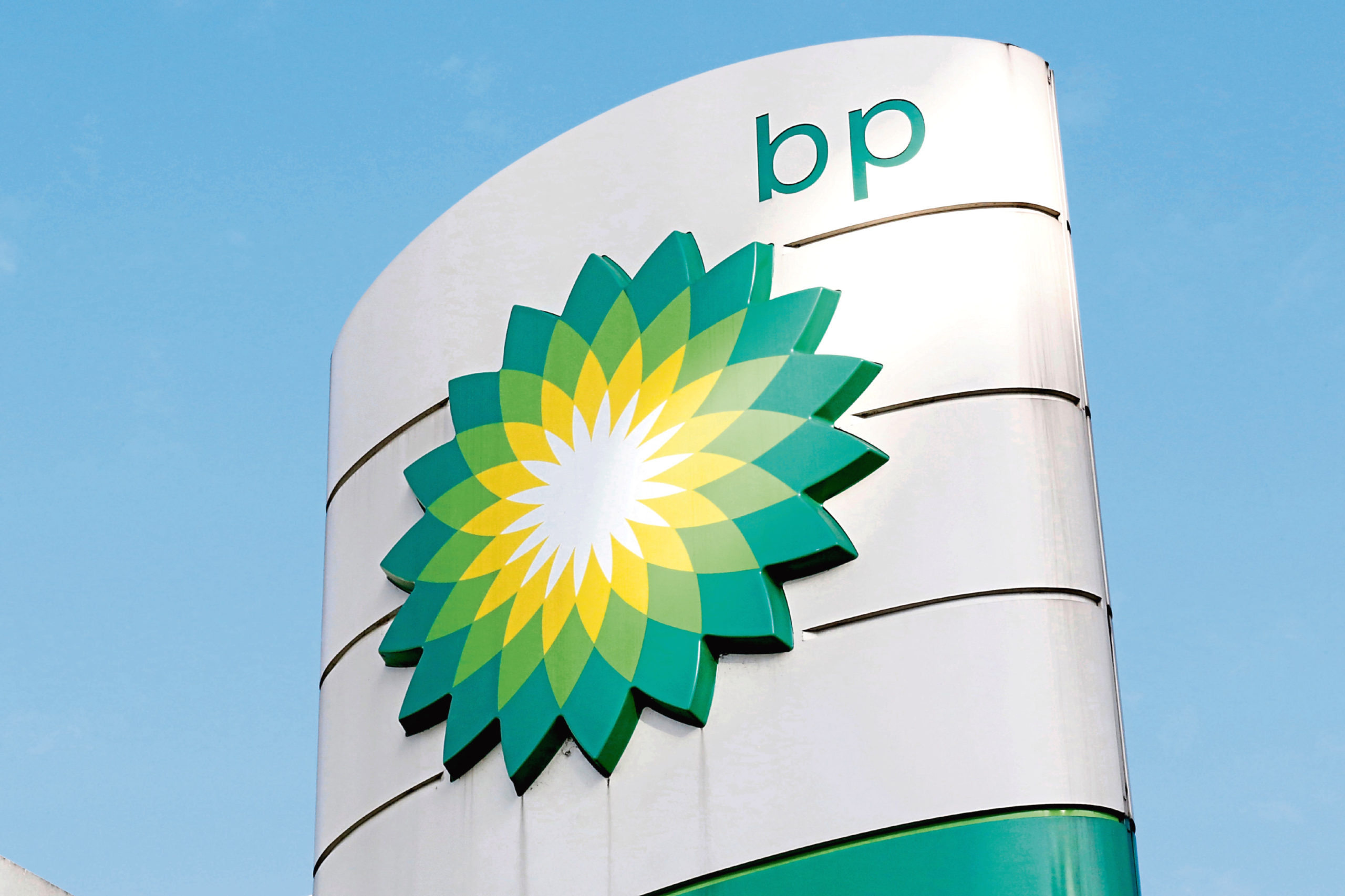 Mandatory Credit: Photo by Caroline Spiezio/AP/Shutterstock (10373133a) The oil producer BP company logo at a petrol station in London is shown. BP, a major player on Alaska's North Slope for decades, is selling all of its assets in the state, the company announced . Hilcorp Alaska is purchasing BP interests in both the Prudhoe Bay oil field and the trans-Alaska pipeline for $5.6 billion, BP announced in a release BP Alaska, London, United Kingdom - 01 Aug 2017