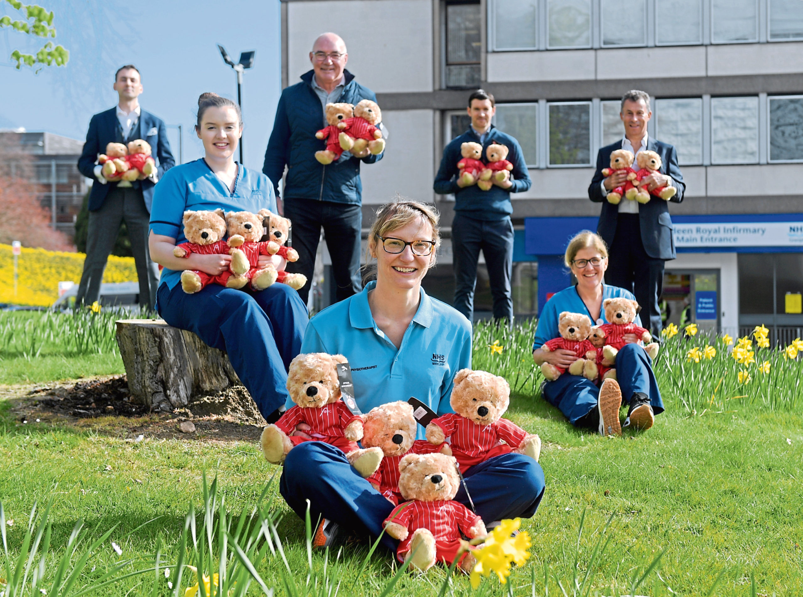 Gary Walker Wealth Management have purchased a heap of Miller Bears from the AFC Community Trust to donate to frontline NHS staff