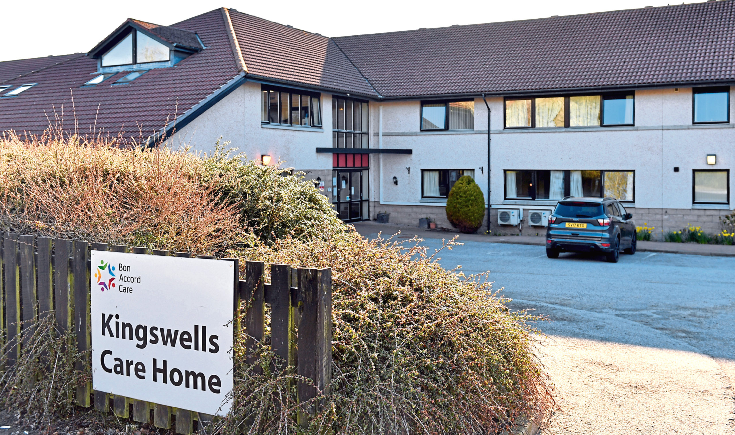A Just Giving page has raised over £2000 for care workers at Kingswell Care Home.