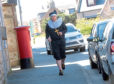 David Siudej goes jogging around Insch in a different outfit each day
