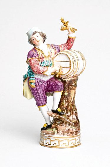 Figure of a Cider Seller, Meissen, 1750-1799