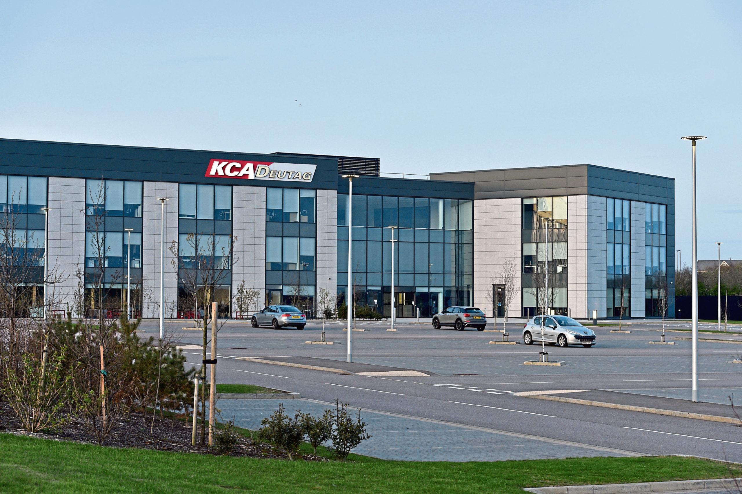 KCA Deutag's base in Portlethen
