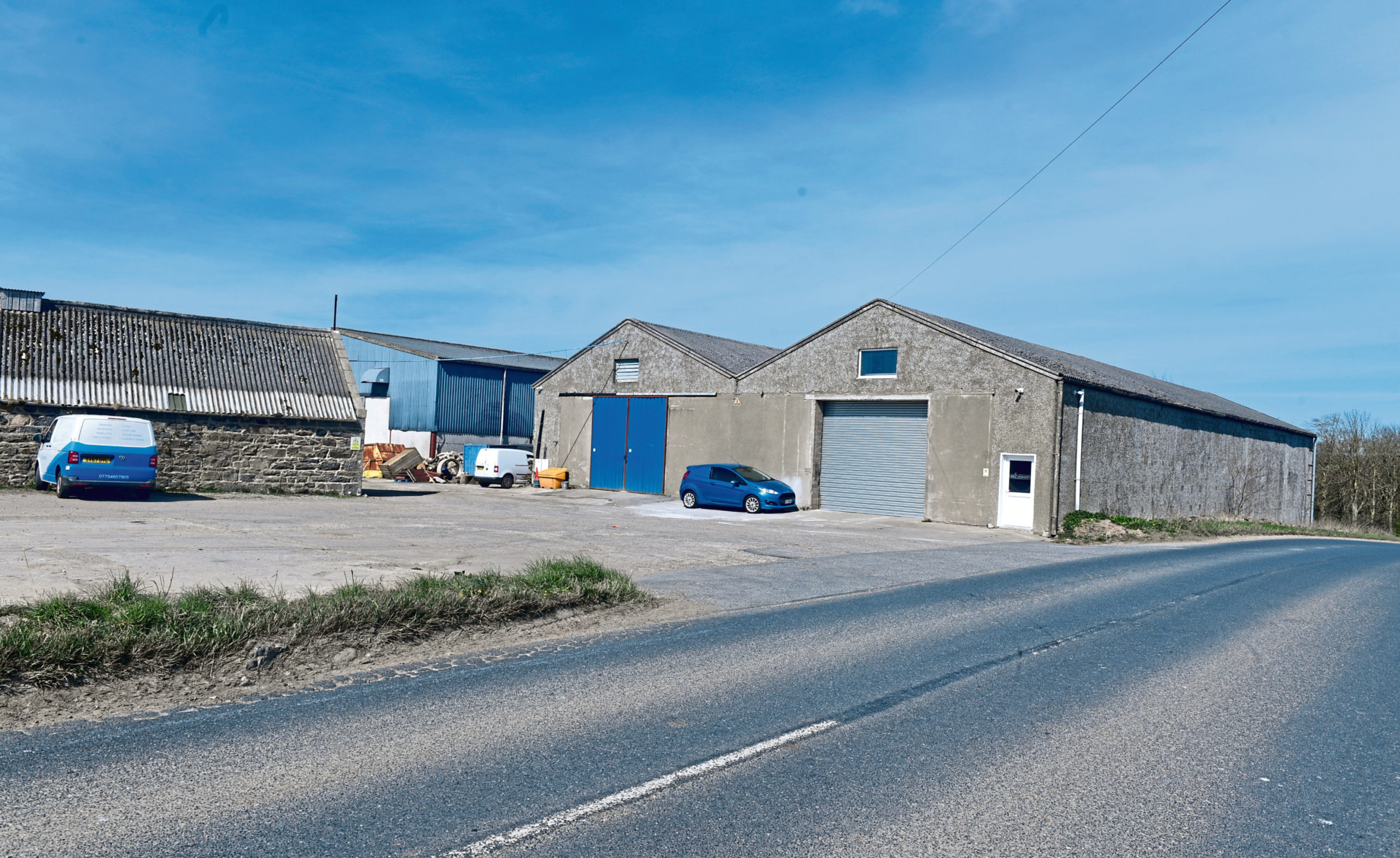 The site near Ellon would be turned into a gymnastics centre