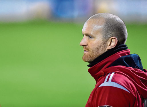 Locos manager Andy Low. Picture by Scott Baxter