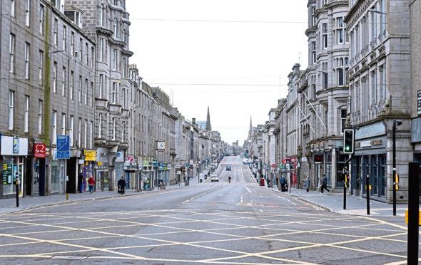 Douglas Lumsden claimed the impact of coronavirus on Aberdeen could hit £50m