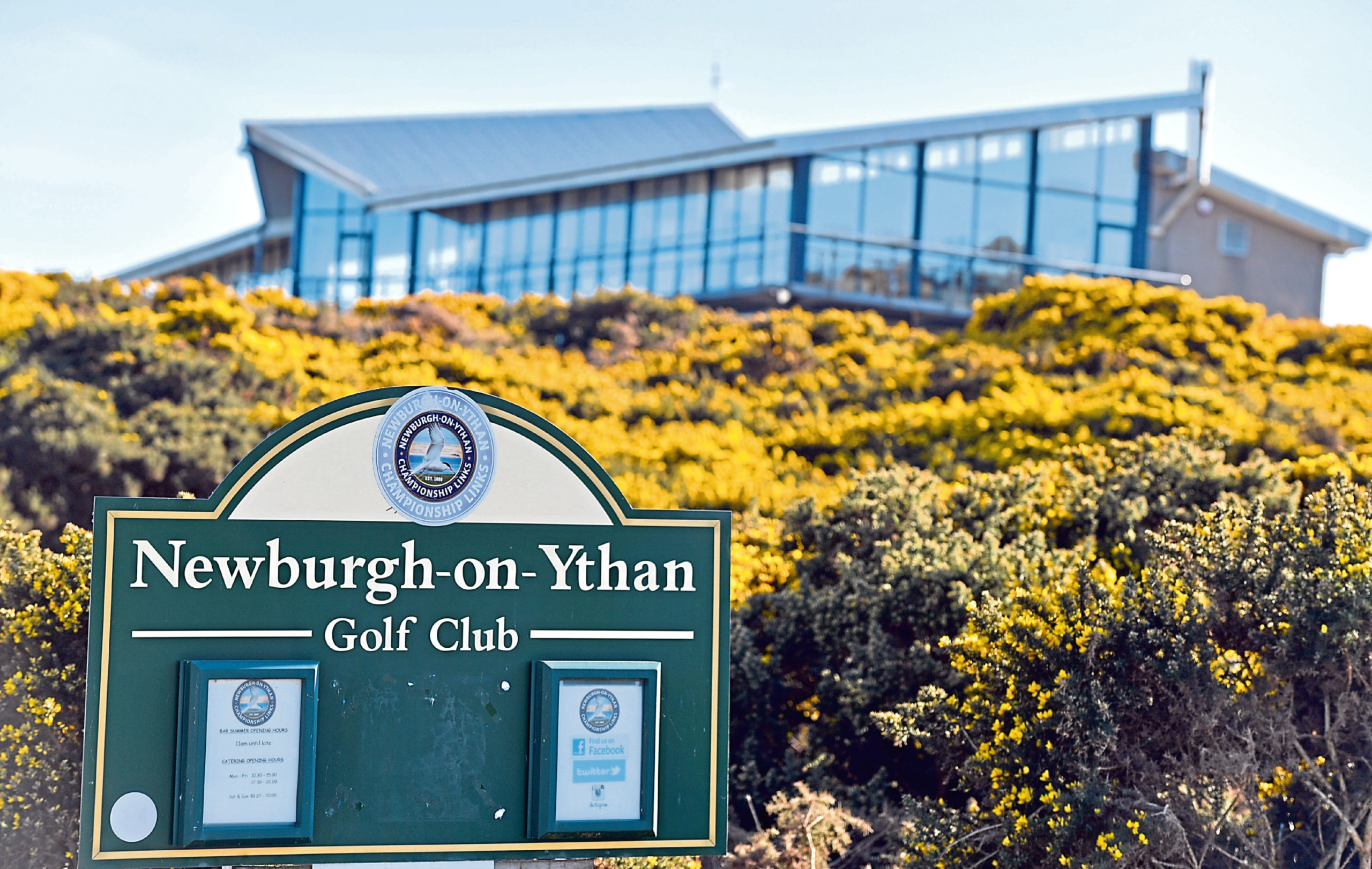 Newburgh-On-Ythan golf club have submitted a licensing application for an outdoor drinking area