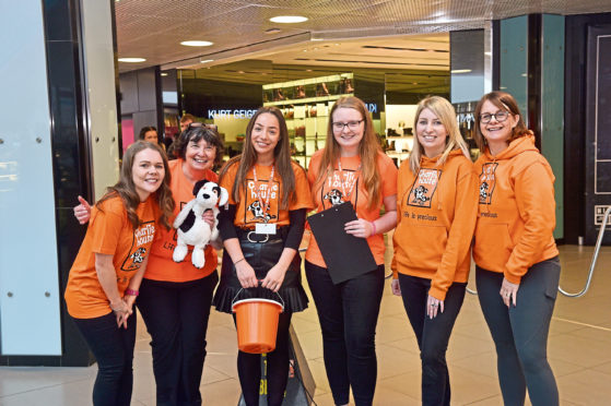 Charlie House volunteers, at a scavenger hunt they organised earlier in the year, are now seeking help for Sunday's 2.6 challenge