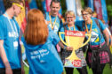 Last year's Kiltwalk event