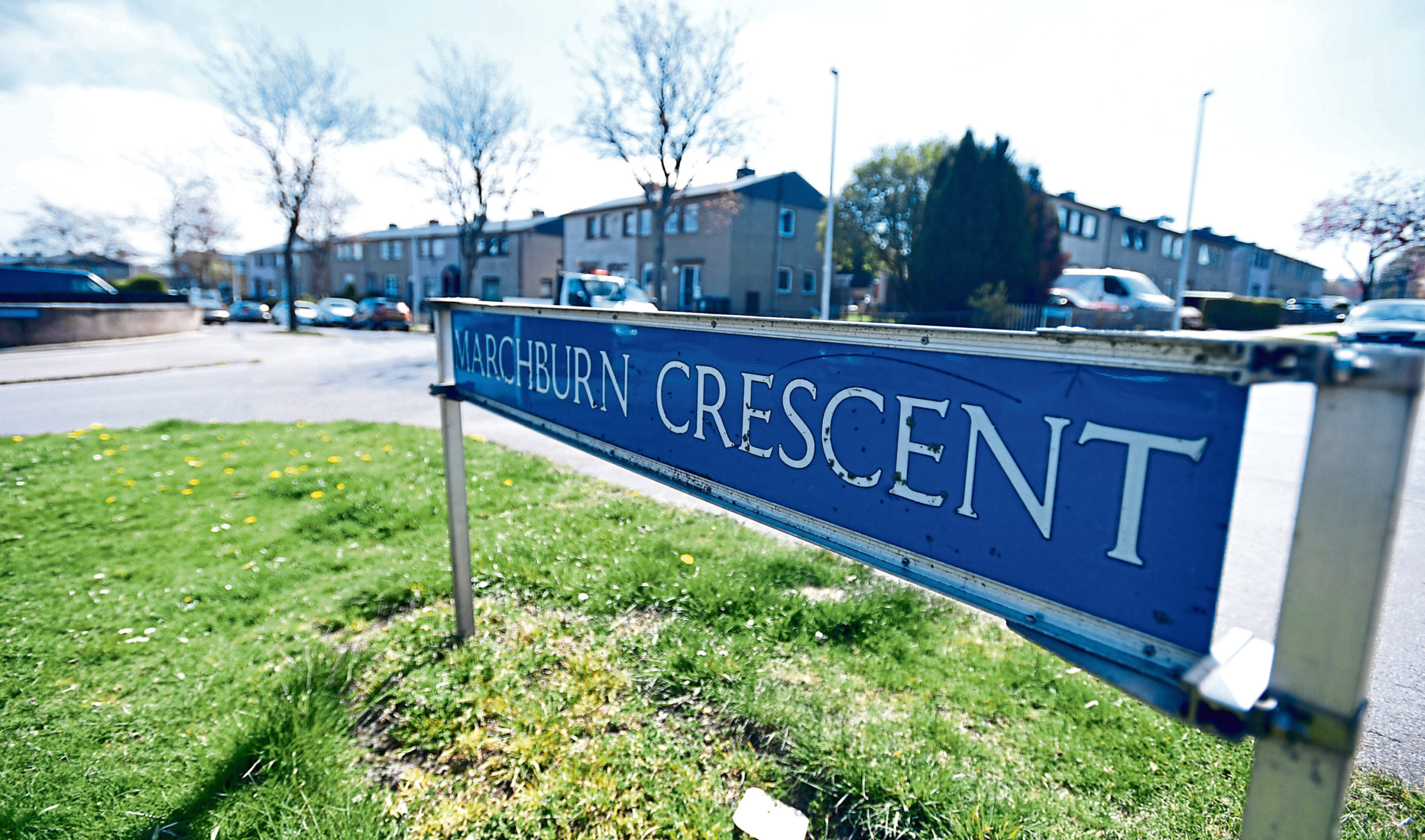 Two men have appeared in court  after an incident in Marchburn Crescent