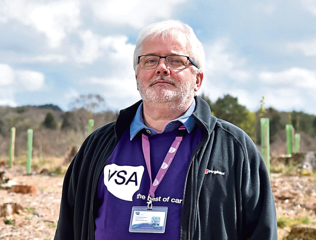VSA chief executive Kenneth Simpson has warned of the long-term mental health impacts of coronavirus.