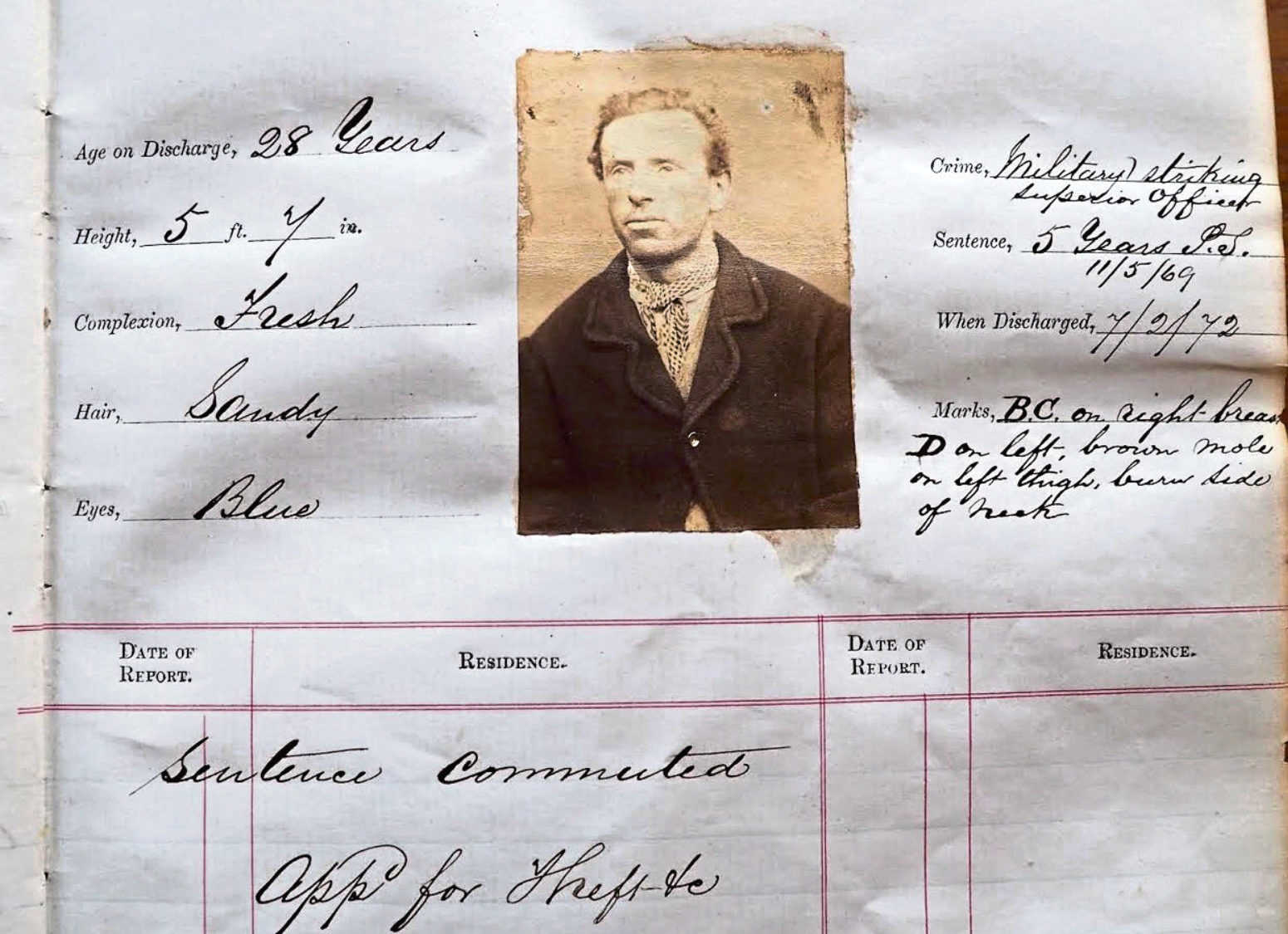 Robert Sanderson was sentenced to five years