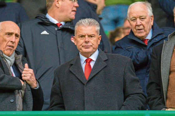 Aberdeen chairman Dave Cormack may have to decrease the football budget.