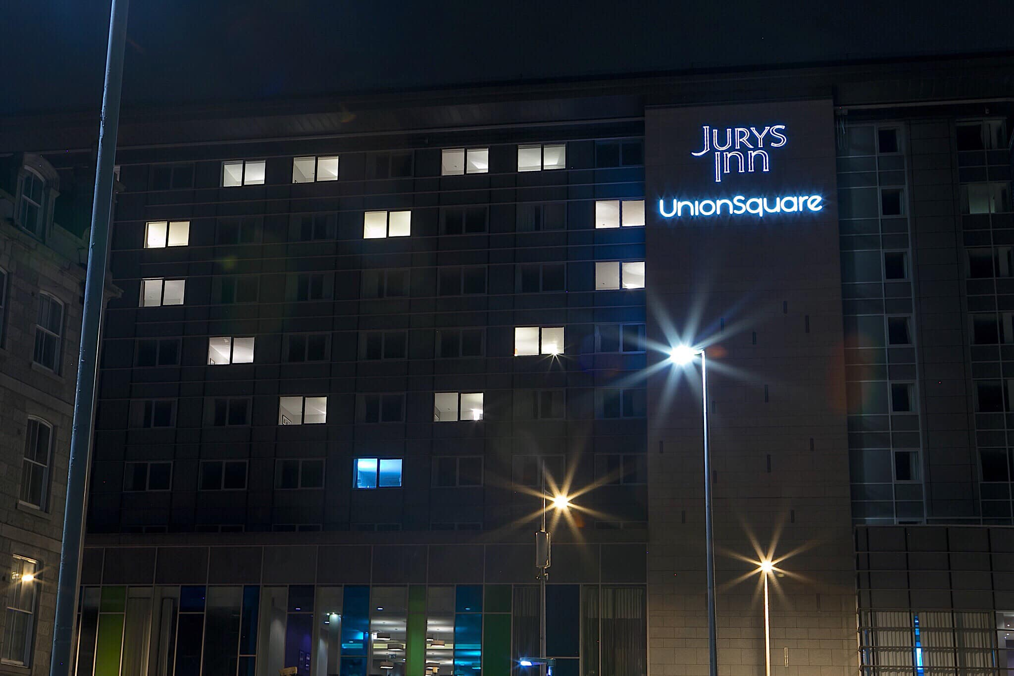 The Jurys Inn hotel at Union Square. Picture by Rebecca McGregor