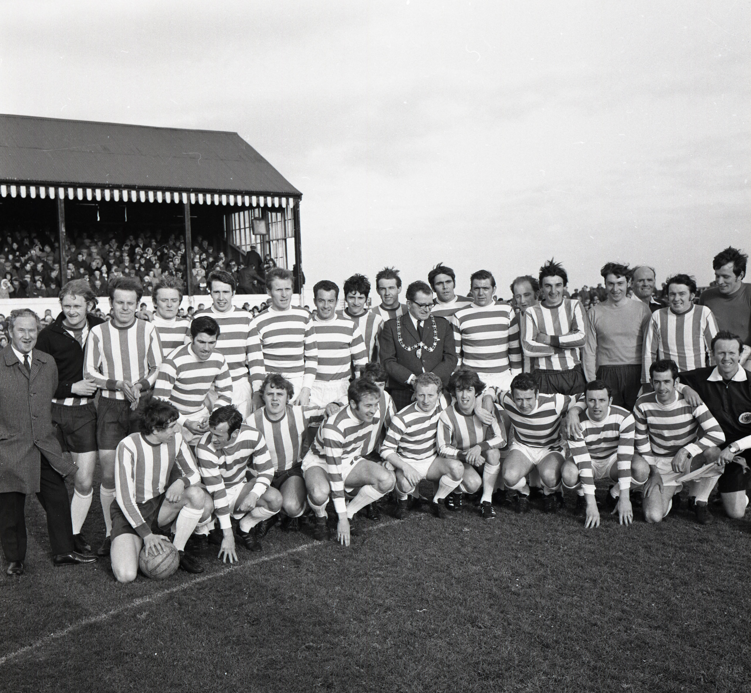Today marks 50 years since the charity match between Fraserburgh and Celtic