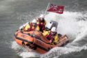The lifeboat BUOY WOODY 85N
